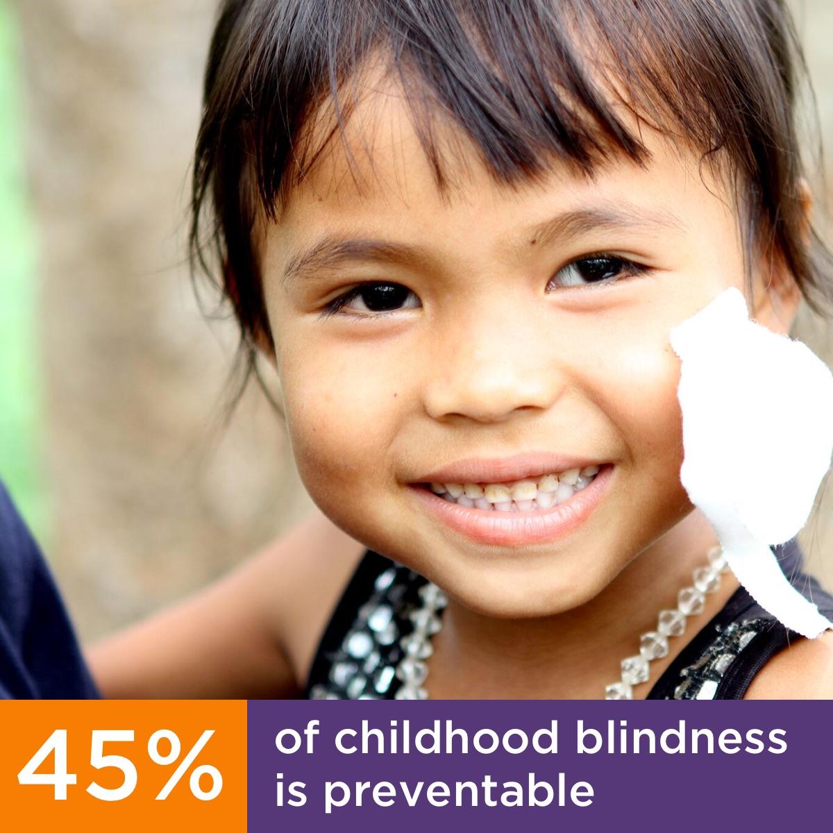 Facebook Profile Image - Childhood Blindness